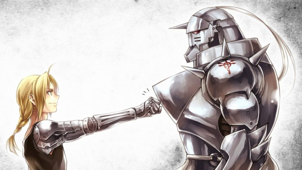 edward elric and alphonse