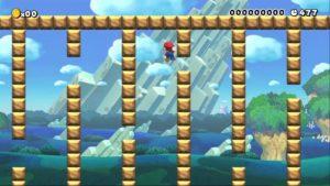 super mario wall jumping glitch