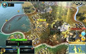 Civilization V gameplay