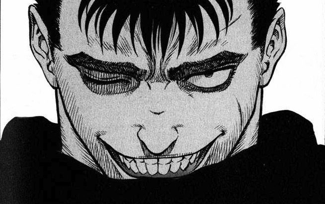Guts slasher smile