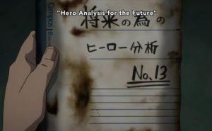 Hero analysis for the future