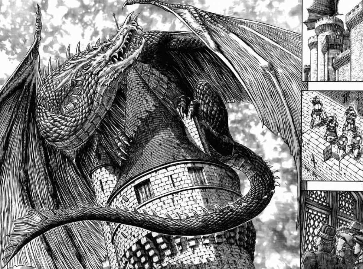 berserk manga dragon