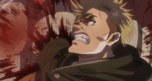 commander Erwin killed by titan