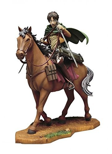 Eren Yeager on Horse Statue