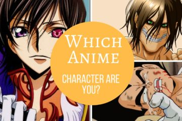 Which Anime Character Are You? – Quiz