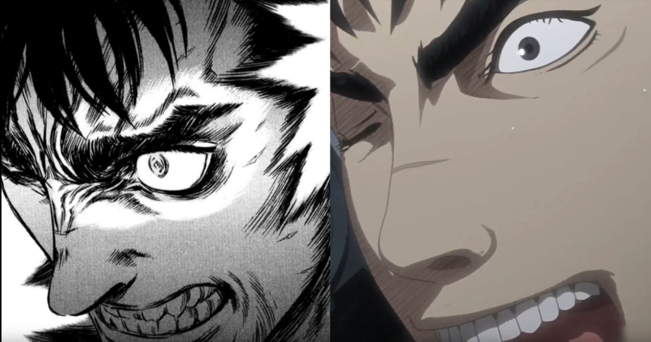 Berserk anime vs manga