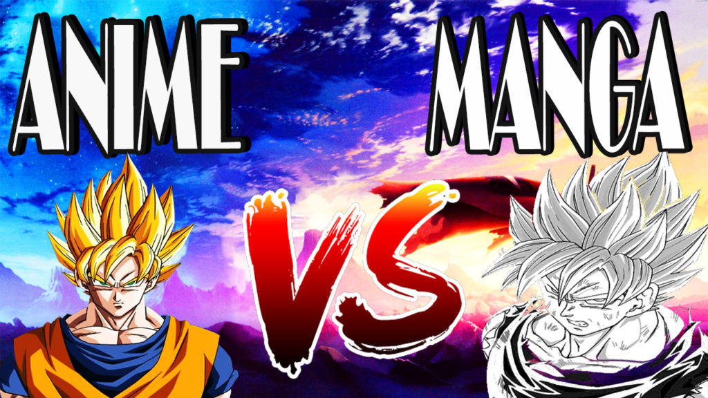 Image result for Anime vs Manga