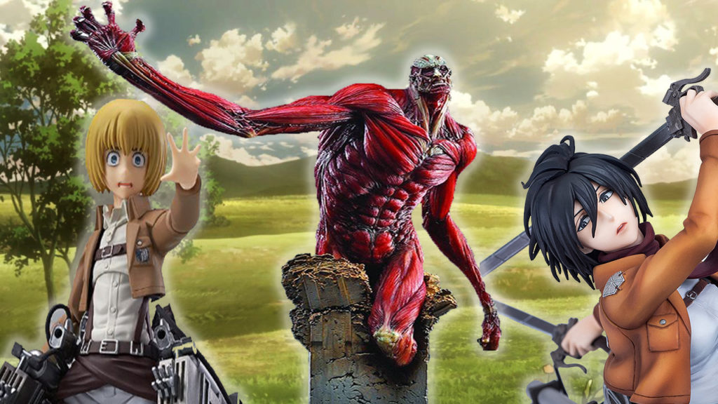 53 Best Attack On Titan Figures Toys Statues 2019